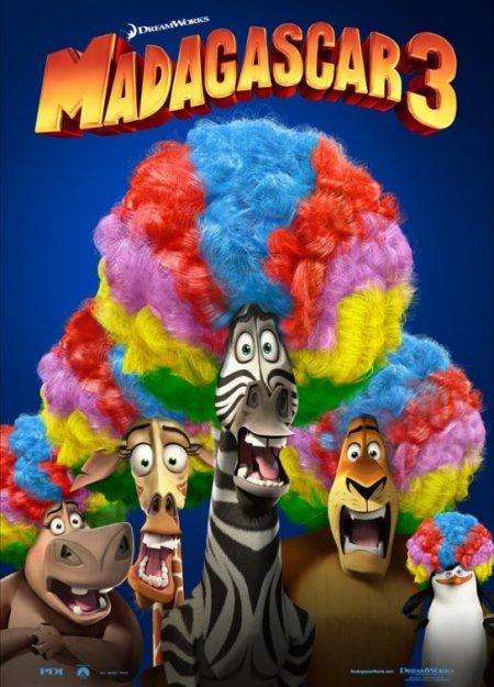 Plakáty : madagascar 3 ( 2012 )
